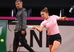 Simona Halep, despre surpriza pregatita de capitanul-nejucator al echipei de Fed Cup a Frantei