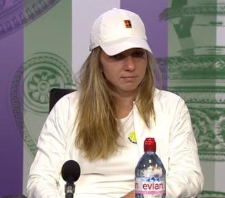 Simona Halep, dupa eliminarea de la Wimbledon: Probabil castigam daca respectam tactica lui Darren Cahill