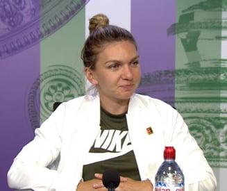 Simona Halep, dupa prima victorie de la Wimbledon 2018: Am fost putin ingrijorata