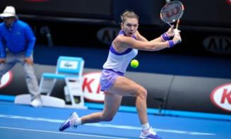 Simona Halep, eliminata de la Australian Open dupa o infrangere incredibila