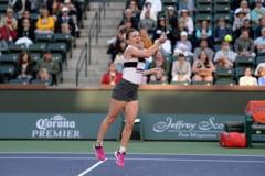 Simona Halep, eliminata de la Indian Wells dupa un meci de cosmar