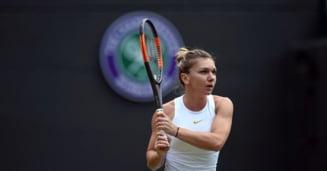 Simona Halep, eliminata de la Wimbledon dupa ce a avut minge de meci