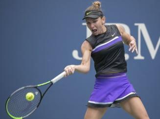 Simona Halep, eliminata dramatic de la US Open