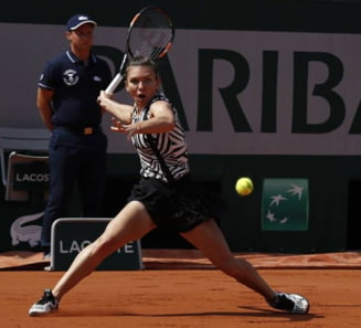 Simona Halep, eliminata in optimi de la Roland Garros
