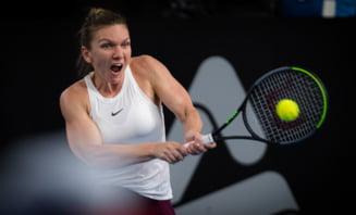 Simona Halep, eliminata in sferturile de finala de la Adelaide