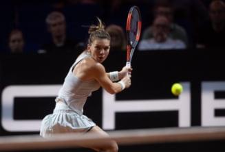 Simona Halep, eliminata in sferturile de finala de la Stuttgart dupa un esec usturator
