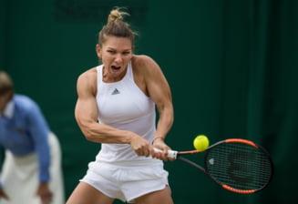 Simona Halep, eliminata in sferturile de finala de la Wimbledon dupa un meci dramatic