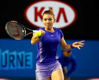 Simona Halep, eliminata in sferturile de finala la Australian Open