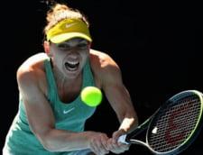 Simona Halep, eliminata in sferturile de finala la Melbourne. Romanca a cedat in doua seturi