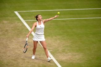 Simona Halep, eliminata in sferturile de finala la Wimbledon
