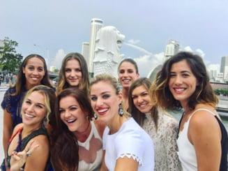 Simona Halep, in selfiul si clipul video ale anului 2016 (Foto si video)