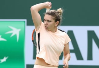 Simona Halep, in sferturi la Indian Wells: Miza financiara considerabila a meciului