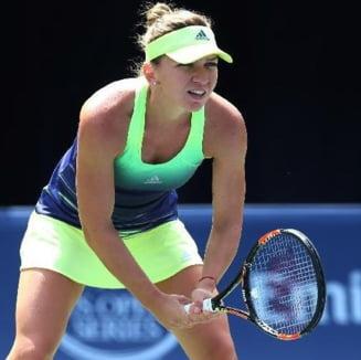 Simona Halep, inca o declaratie curioasa la US Open: Joc mai bine sub presiune