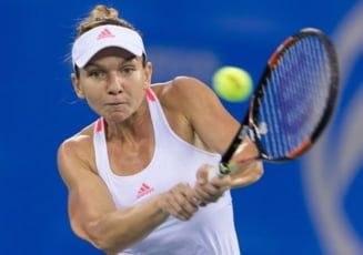 Simona Halep, infrangere usturatoare in semifinale la Wuhan
