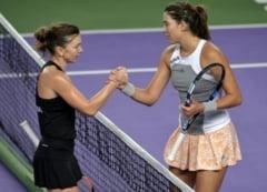 Simona Halep, intr-un interviu pentru Marca: Cum comenteaza decizia ITF de a o numi tenismena anului pe Muguruza