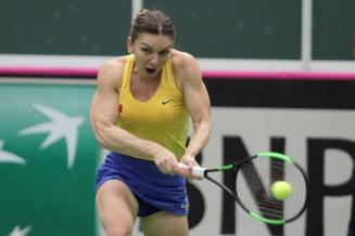 Simona Halep, intr-un interviu pentru site-ul oficial al WTA: Cat de importanta e victoria din Fed Cup pentru Romania
