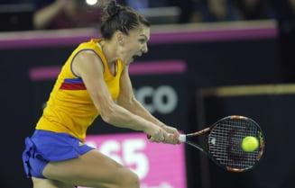 Simona Halep, intrebata daca a consolat-o pe Sharapova - ce raspuns a dat sportiva noastra