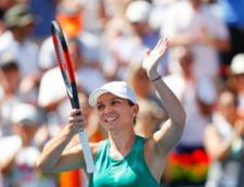 Simona Halep, intrebata de jurnalistii straini despre criticile adresate celor care au scandat mesaje anti-PSD la finala Rogers Cup
