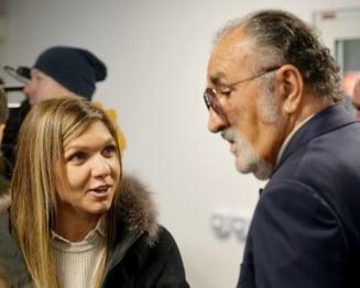 """Simona Halep, intrebata de relatia cu Ion Tiriac intr-un interviu pentru Sports Illustrated: """"A mancat sticla pentru tine?"""""""