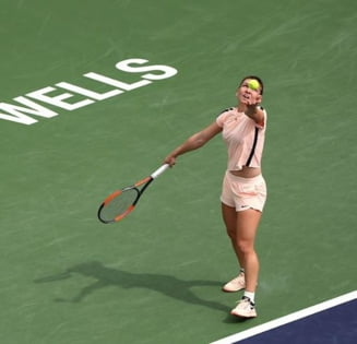 Simona Halep, invinsa categoric in semifinale la Indian Wells