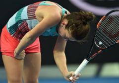 Simona Halep, invinsa de Ana Ivanovici la Dubai