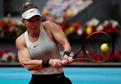 Simona Halep, invinsa de Karolina Pliskova in sferturi la Madrid
