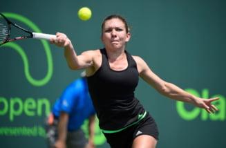 Simona Halep, invinsa de Maria Sharapova la Turneul Campioanelor dupa un meci de infarct