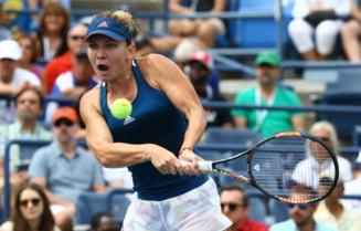 Simona Halep, invinsa de Serena Williams dupa un meci in care a luptat eroic