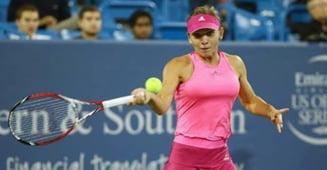 Simona Halep, invinsa de Sharapova dupa un meci halucinant