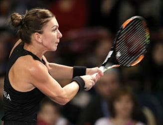 Simona Halep, invinsa in primul meci disputat la Toronto