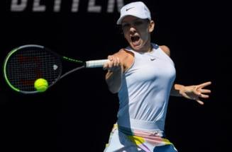 Simona Halep, invinsa in semifinale la Australian Open dupa un meci electrizant