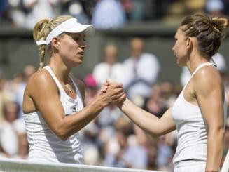 Simona Halep, invinsa in semifinale la Cincinnati de Angelique Kerber
