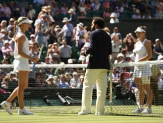 Simona Halep, invinsa in semifinale la Wimbledon