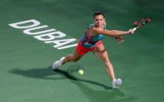 Simona Halep, invinsa in sferturile de finala de la Dubai dupa un meci de mare lupta