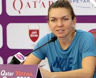 Simona Halep, la conferinta de presa de dinaintea debutului la Doha: Cum se simte si ce spune despre contractul cu Nike