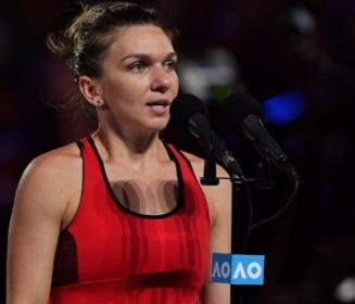 """Simona Halep, la conferinta de presa de dupa finala pierduta la Australian Open: """"Sunt foarte trista"""". Ce a impiedicat-o sa castige"""