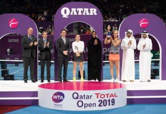 Simona Halep, la rece dupa finala pierduta la Doha in fata lui Elise Mertens: Nu am mai avut energie