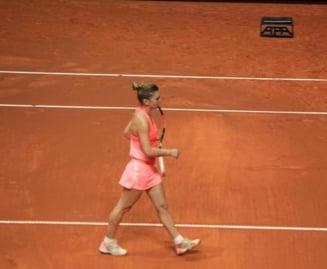 Simona Halep, lovitura extraordinara la Stuttgart (Video)