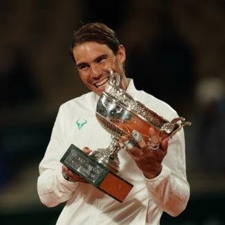 Simona Halep, mesaj pentru Rafa Nadal: Esti un exemplu pentru toti si cel mai bun. Respect imens