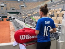 Simona Halep, mesaj superb pentru Hagi de la Roland Garros