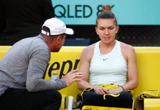 Simona Halep, nemultumita de Daniel Dobre: Ce i-a reprosat antrenorului