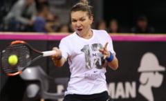 Simona Halep, nemultumita de conditiile de la Stuttgart dupa eliminare: Nu-mi puteam tine picioarele pe teren