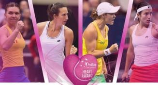 """Simona Halep, nominalizata la premiul Fed Cup Heart Award: """"A fost o inspiratie pentru Romania"""""""