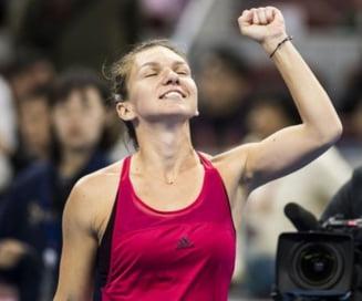 Simona Halep, nominalizata la titlul de tenismena anului 2017