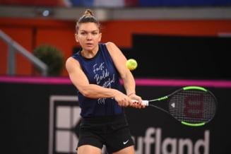 """Simona Halep, o varianta pentru echipa de dublu. Anuntul lui Florin Segarceanu pentru ziua de """"foc"""" de duminica in Fed Cup"""