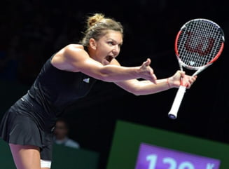 Simona Halep, pe urmele Serenei Williams: Reactie nervoasa in semifinale