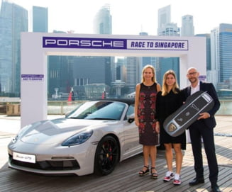 Simona Halep, premiata in Singapore: A primit inca o masina de lux (Foto)