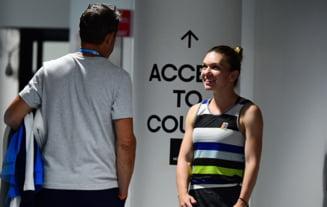 Simona Halep, prima reactie despre negocierile cu Thierry van Cleemput