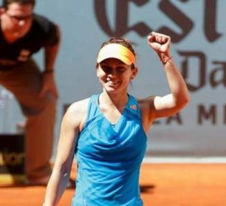Simona Halep, prima reactie dupa calificarea in finala de la Bucuresti: Ce i-a rugat pe romani