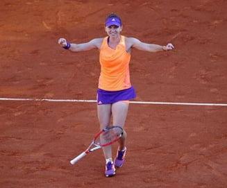 Simona Halep, prima reactie dupa ce a castigat turneul de la Bucuresti: Multumesc Romania!